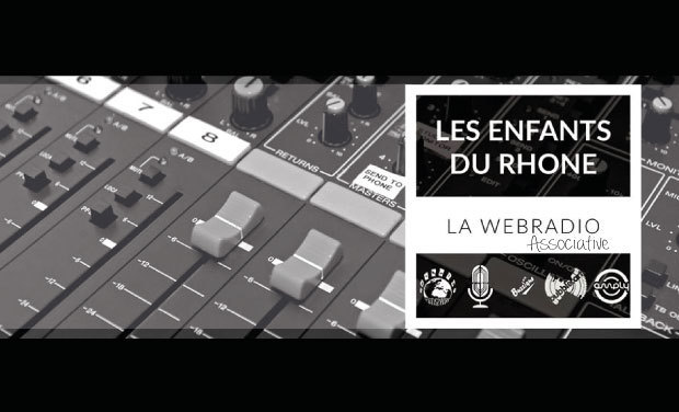 Project visual Les Enfants Du Rhône - Webradio associative