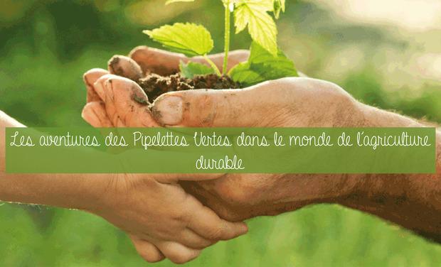 Visuel du projet Les aventures des Pipelettes Vertes dans le monde de l'agriculture durable!