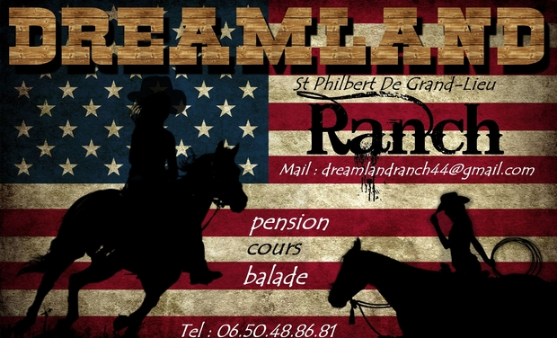 "Project visual Dreamland ranch ""équitation western"""