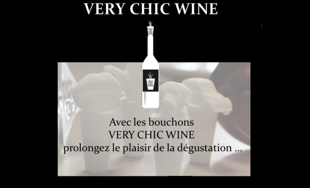 Project visual Bouchons VERY CHIC WINE