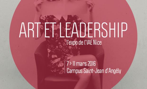 Visuel du projet Art et Leadership. L'exposition événement à l'IAE Nice