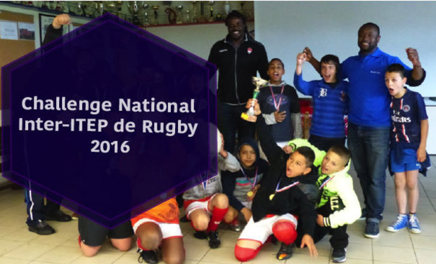 Project visual Le Challenge National de Rugby inter-ITEP 2016
