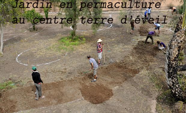 Project visual Jardin permaculture, terre d'éveil