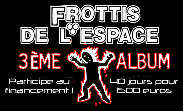 Visueel van project Frottis de l'Espace : Participez au lancement du 3ème album !