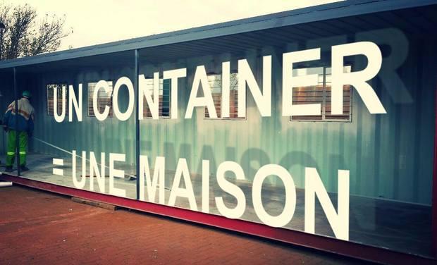Visuel du projet UN CONTAINER =  UNE MAISON