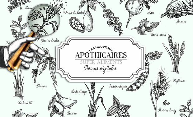 Visuel du projet Les Nouveaux Apothicaires - Super Aliments