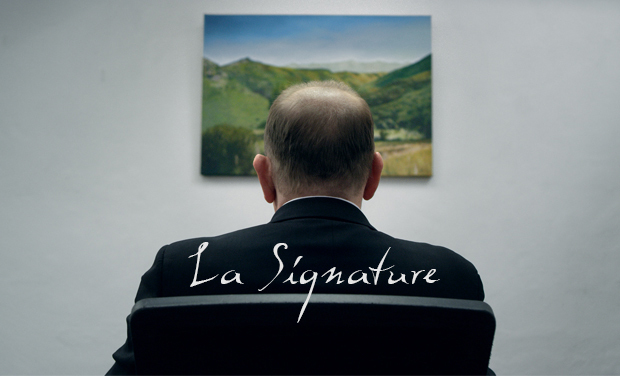 Project visual La signature