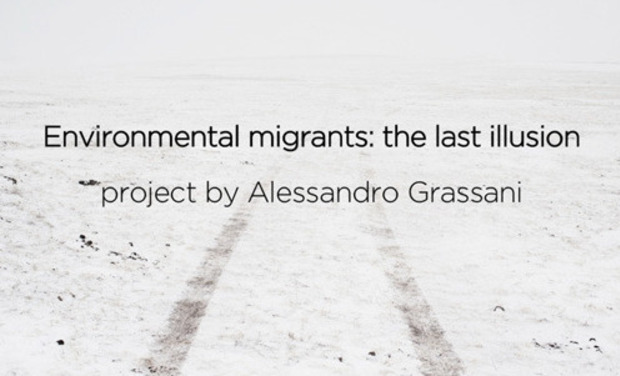 Visuel du projet Environmental migrants: the last illusion