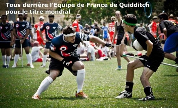 Visuel du projet Quidditch : aidez la France à devenir championne du Monde !