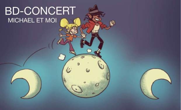 Project visual BD-CONCERT MICHAEL ET MOI