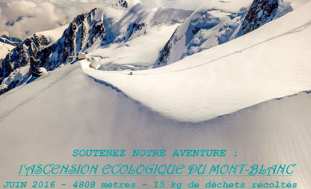 Project visual Ascension écologique du Mont-Blanc