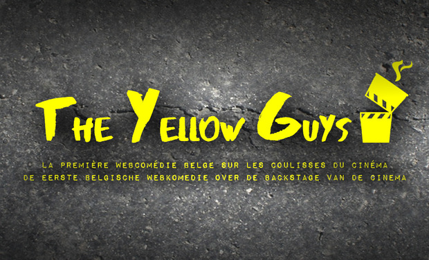 "Visueel van project ""THE YELLOW GUYS"" a webseries by Valentin Courel and Thierry Errembault"