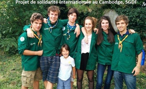 Visueel van project Projet solidaire pour les enfants de la rizière - Cambodge - SGDF
