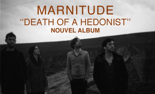 "Visuel du projet Marnitude ""Death Of A Hedonist"", nouvel album !"