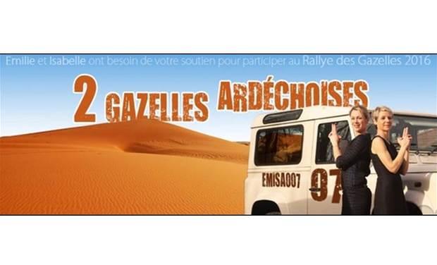 Project visual 2 Gazelles Ardéchoises