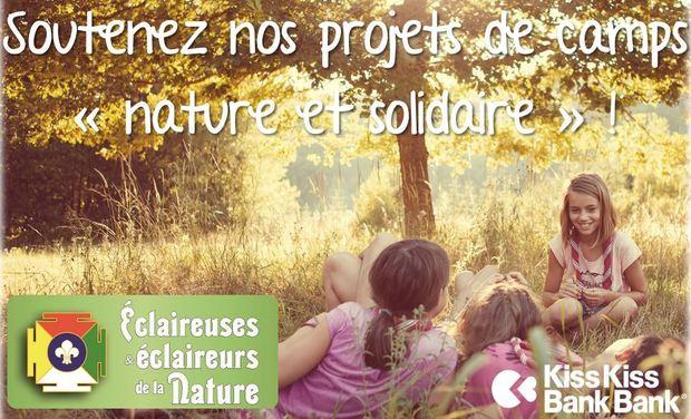 """Visuel du projet Soutenez nos camps """"nature et solidaire"""" !"""