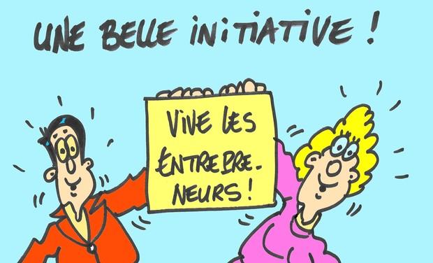 Visuel du projet Initiative Club Nice Côte d'Azur, réseau social des entrepreneurs