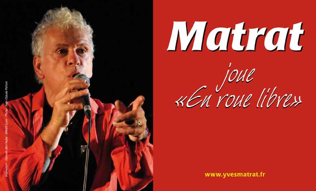 """Visuel du projet Réalisation de l'album """"MATRAT, en roue libre"""""""