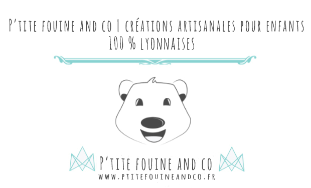 Visueel van project P'tite fouine and co | Créations artisanales pour enfants made in Lyon
