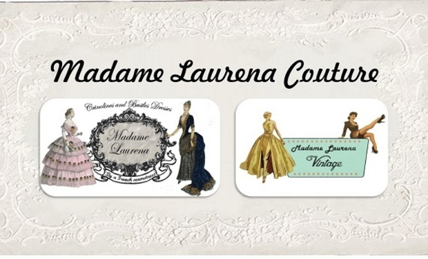 Project visual Madame Laurena, couture historique & vintage