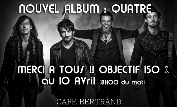 Visuel du projet Café Bertrand Nouvel Album
