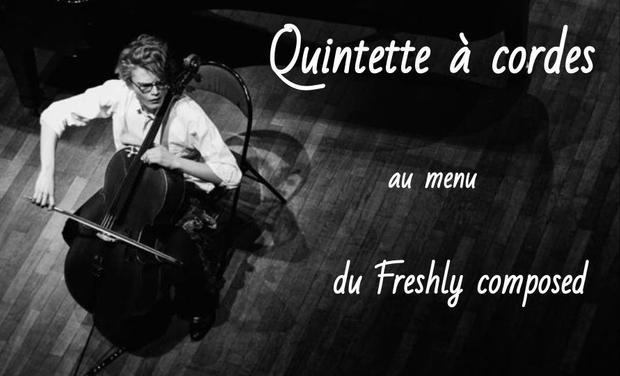 Visuel du projet Quintette à cordes, au menu du Freshly composed