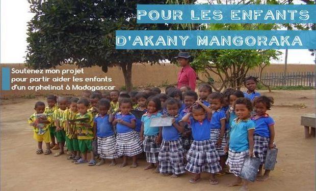 Visuel du projet Pour les enfants d'Akany Mangoraka