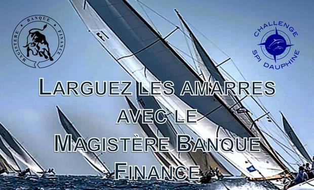 Project visual Larguez les amarres avec le Magistère Banque Finance