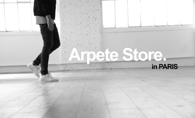 Visueel van project Concept shop Arpete Store à PARIS