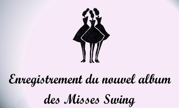 """Visuel du projet Enregistrement du Nouvel album des Misses Swing """"Une autre Rive"""""""