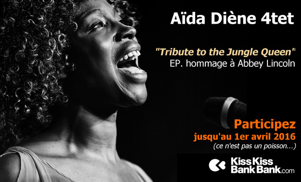 Project visual Aida Diene 4tet – EP Hommage à Abbey Lincoln