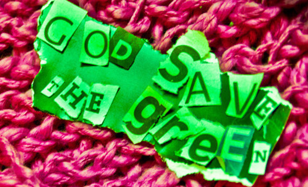 Visueel van project God Save the Green-The Object of Desire