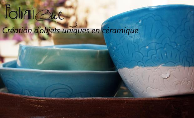 Visuel du projet La Fabrique: Création de pièces uniques en céramique