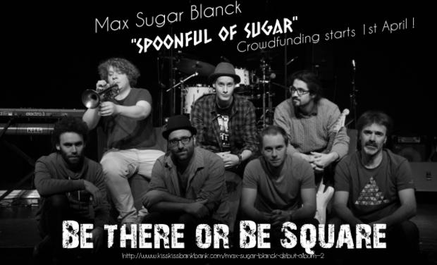 Project visual Max Sugar Blanck - debut album
