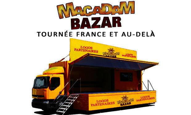 Visueel van project Macadam Bazar Tour France et au-delà