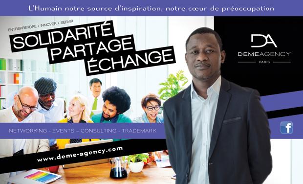 Project visual Solidarité. Partage. Echange