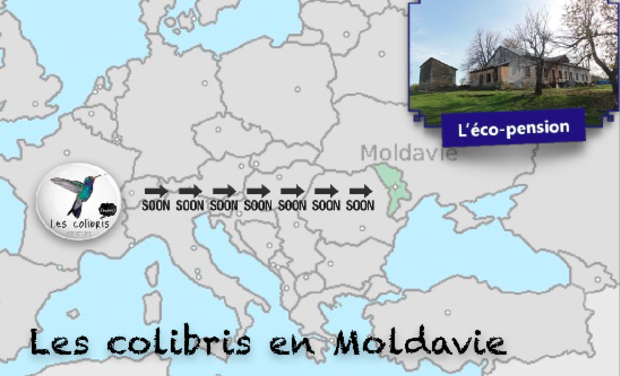 Visueel van project Les colibris en Moldavie !