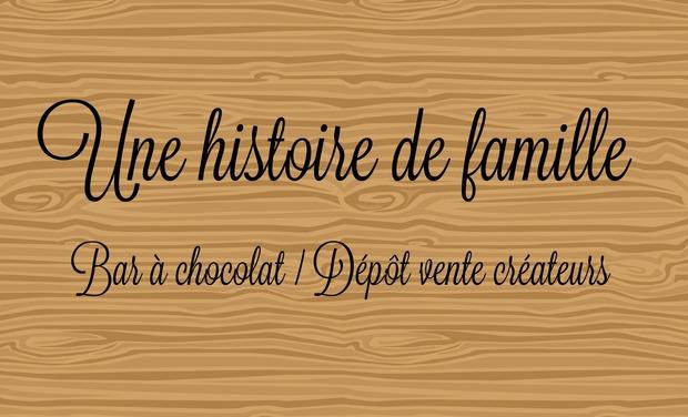 Visuel du projet Une histoire de famille Bar à chocolat / Dépôt vente d'objets de créateur
