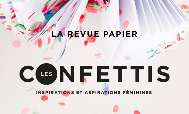 Visuel du projet Les Confettis - La revue papier
