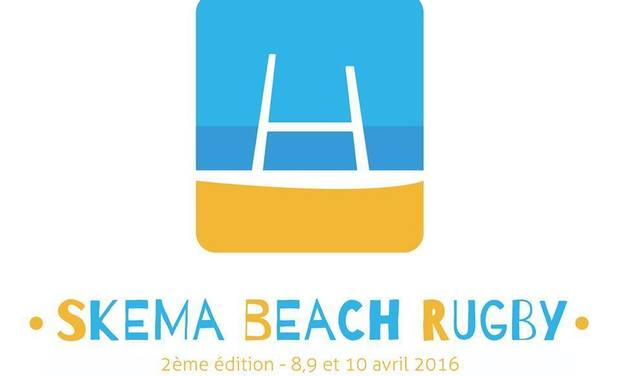 Project visual SKEMA Beach Rugby seconde édition
