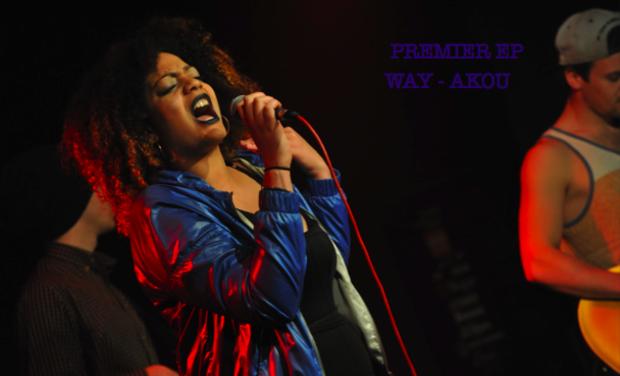 Visuel du projet Premier  EP d'Akou   ''WAY ''