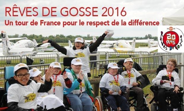 Project visual UN TOUR DE FRANCE POUR LE RESPECT DE LA DIFFÉRENCE