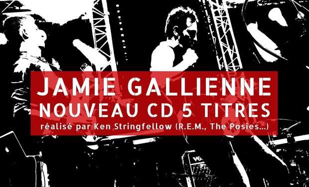 Visueel van project JAMIE GALLIENNE, nouveau CD 5 titres