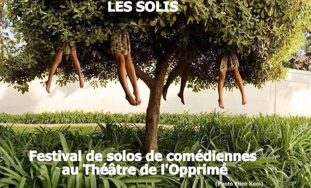 Visuel du projet Les Solis / Festival de solos de comédiennes au Théâtre de l'Opprimé