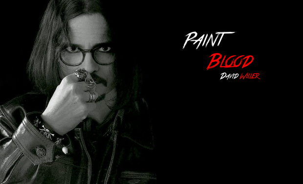 Visueel van project Paint Blood
