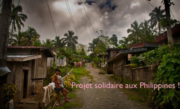 Visuel du projet Projet solidaire aux Philippines