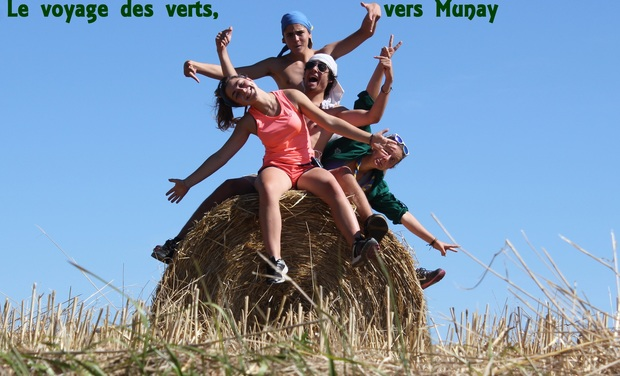 Project visual Le voyage des Verts, vers Munay.