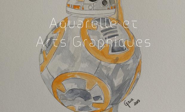 Visuel du projet Aquarelles et Arts Graphiques