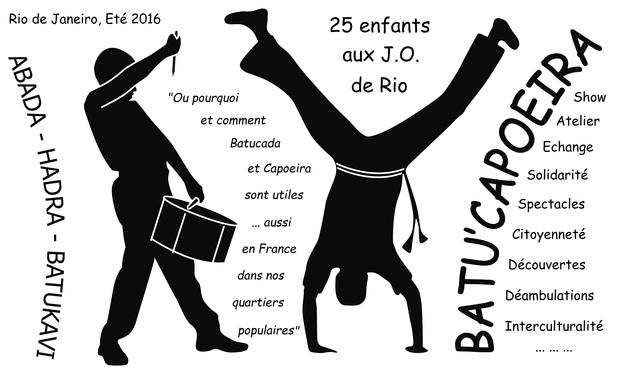 Visuel du projet Batu'Capoeira : aux JO de Rio (Objectif Atteint !)