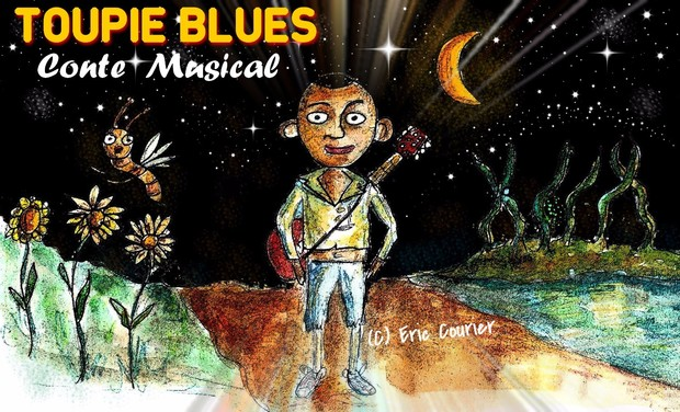 Project visual Toupie Blues - Conte Musical